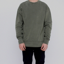 [FADE6] Washed Sweatshirt - Khaki