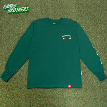 [Banktwobrothers] Bad Goblin Long Sleeves - Forestgreen