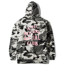 [Anti Social Social Club] The Not Gildan Snow Camo Hoodie