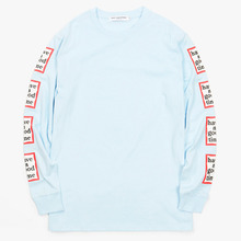 [Have a good time](30%세일) Arm Frame L/S Tee - Light Blue