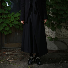 [YORKMINSTER] Deathless Wide Pants-001 - Black