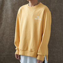 [WANTON] (30%OFF) BASIC LOGO SWEATSHIRTS - MUSTARD
