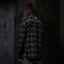 [Blessed Bullet] Divine Check Shirts - Black/Grey
