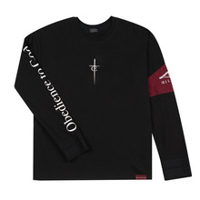[Oeil Noirs]Obedience to God L/S - Black