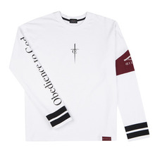 [Oeil Noirs]Obedience to God L/S - White