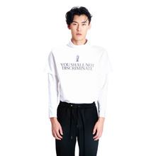 [VERDAMT] Layerd Turtle Neck - White