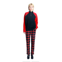 [VERDAMT] Check Pants - Red