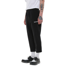 [Coup de grace](50%세일) COUP DE GRACE POLY SKINNY SLACKS - BLACK