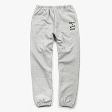 [Have a good time](30%세일) Logo Sweat Pants - Heather Grey