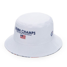 [본챔스](30%할인) BC BORN BUCKET HAT WHITE