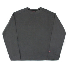 [Nameout] Basic Oversized Crewneck Sweatshirts - Charcoal