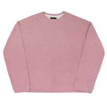 [Nameout] Basic Oversized Crewneck Sweatshirts - Pink