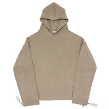 [Nameout] Cropped Hoody - Beige