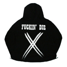 [Nameout] Fuckin' Die Wind Jacket - Black