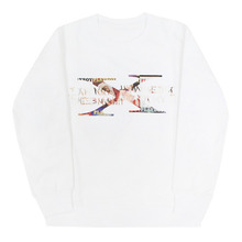 PLAY BOY Covers Logo Crewneck - White