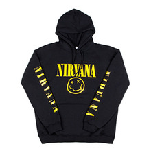 [IDC WEAR] NIRVANA SMILE HOODIE YELLOW - BLACK