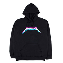 [IDC WEAR] METALLICA ROCK HOODIE 3C - BLACK
