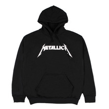 [IDC WEAR] METALLICA ROCK HOODIE - BLACK