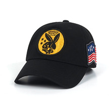 [STIGMA]FLAG BASEBALL CAP - BLACK