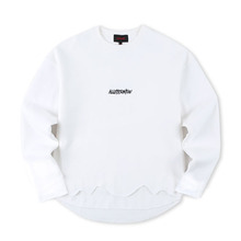 [Alleyesonyou][20%할인] VICE CITY CURSED GOAT SWEAT SHIRT - White