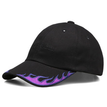 [NYPM] Nasty Flame Cap - Black/Purple