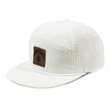 [Candlroute] Corduroy Snapback - White