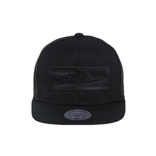[Mitchell&Ness]Ne18z-Ebra 2 Tone Label Snap BK/BK