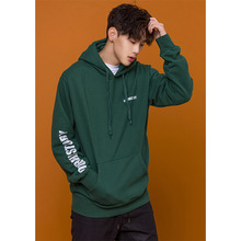 [OURHISTORY]Logo Reflective Hoodie - Green