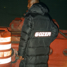 [GOZER]LONG PARKA 3M - BLACK
