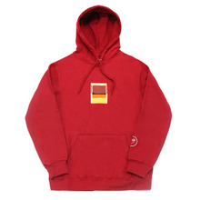 [e by EASY BUSY] Rothko Hoody - Red