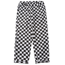 [e by EASY BUSY] Chequrered Pants - Chess