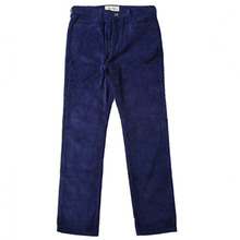 [e by EASY BUSY] Vortex Detail Corduroy Pants - Navy