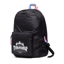 [HUF x Thrasher] TDS Packable Backpack - Black