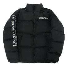 Basic Logo Duckdown Jacket - Black