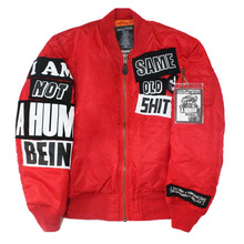 The Legendary Out Patch MA-1 Jacket - Red