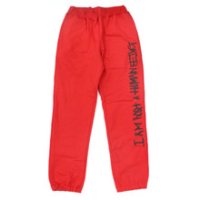 Basic Logo Sweatpant - Red