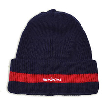 [10%할인][MADMARS]LOGO EMBROIDERED BEANIE-NAVY