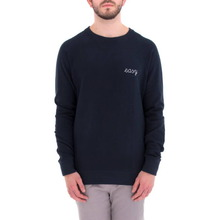 [WEMOTO] (40%세일) EASY CHEST CREWNECK - NAVY BLUE(71.405-400)