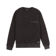 [WEMOTO] (40%세일) BEAN CREWNECK - BLACK(81.420-100)