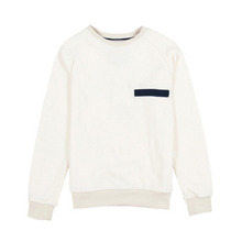 [WEMOTO] (40%세일) BEAN CREWNECK - OFF WHITE(81.420-201)