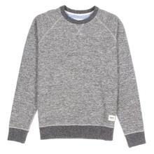 [WEMOTO] (40%세일) KENNY CREWNECK - OFF WHITE MELANGE(81.403-223)