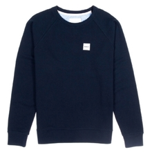 [WEMOTO] (40%세일) BOX CREWNECK - NAVY BLUE(81.407-400)