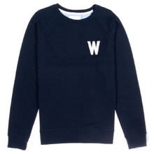 [WEMOTO] (40%세일) WADE CHEST CREWNECK - NAVY BLUE(81.409-400)