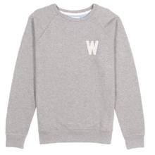 [WEMOTO] (40%세일) WADE CHEST CREWNECK - HEATHER(81.409-300)
