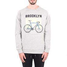 [WEMOTO](40%세일) BROOKLYN CREWNECK - HEATHER(81.413-300)