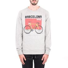 [WEMOTO](40%세일) BARCELONA CREWNECK - HEATHER(81.414-300)