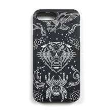 [STIGMA]PHONE CASE EMB TATTOO iPHONE 7/7+ - BLACK
