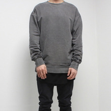 [FADE6] Washed Sweatshirt - Grey