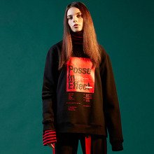 [DVINE][30% 할인] Posse in effect sweatshirts - Black