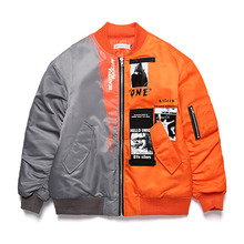 [SILERS X UNIONOBJET] BEAUTIFUL FUCKOFF JACKET - GY/OR